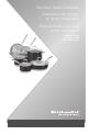 KitchenAid KCS08SKER Instructions manual - Page 1