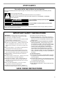 KitchenAid Architect Series II KEBS177SSS Use and care manual - Page 3