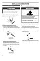 Maytag AER3311WA Installation instructions manual - Page 6