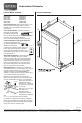 Maytag Jetclean Plus MDB7609AW Install manual - Page 1