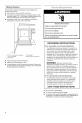 Maytag MDB4651AWS - 24 Inch Full Console Dishwasher Installation instructions manual - Page 4