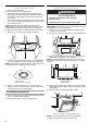 Maytag MMV4203DQ - 2.0 cu. Ft. Combination Range Hood-Microwave Installation instructions manual - Page 8