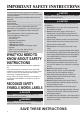 Maytag MMV5207BA Use & care manual - Page 2