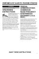 Maytag MMV5207BA Use & care manual - Page 3