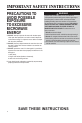Maytag MMV5207BA Use & care manual - Page 4