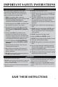 Maytag MMV5207BA Use & care manual - Page 5