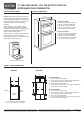 Maytag MMW7530WDW Product dimensions - Page 1