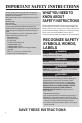 Maytag UMC5200BAB Use & care manual - Page 2