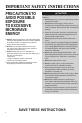 Maytag UMC5200BAB Use & care manual - Page 4