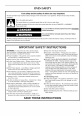 Maytag MEW7527AB00 Use & care manual - Page 3