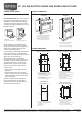 Maytag MEW7530WDW Product dimensions - Page 1