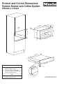 Miele CVA 2662 Operating and Dimensions - Page 1