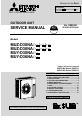 Mitsubishi Electric Mr. Slim MUY-D30NA Service manual - Page 1