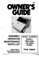 MTD 191-468A Owner's manual - Page 1