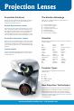 Navitar HDSSW05 Brochure & specs - Page 2