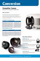 Navitar HDSSW05 Brochure & specs - Page 4