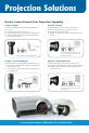 Navitar HDSSW05 Brochure & specs - Page 6