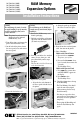 Oki B4350n Installation instructions - Page 1