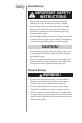 Oreck ProShield Plus Ai Operation & user's manual - Page 4