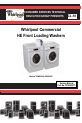 Whirlpool CHW9060 Service manual - Page 1
